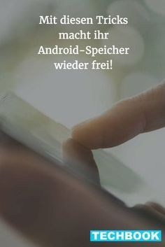 So räumt ihr euren Android-Speicher wieder frei The memory on the Android smartphone is full again? Clean up your phone quickly with these simple tricks. Android Tutorials, Android Hacks, Smartphone Hacks, Android Smartphone, Android App Design, Android Box, Android Watch, Free Android, Budget Planer