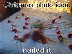 failed baby photo christmas lights photography pinterest i love this gal's blog. so funny and cute here's the original pintrest link http://pinterest.com/pin/424182858622643367/