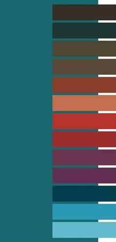 #Farbberatung #Stilberatung #Farbenreich mit www.farben-reich.com Petrol und alles was dazu gehört