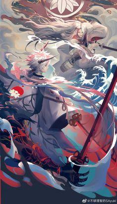 Character Concept, Character Art, Concept Art, Anime Warrior, Anime Demon, Fantasy Characters, Anime Characters, Wallpaper Animes, Cg Art