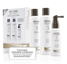 love love LOVE Nioxin! It smells great and tingles your scalp and truly does what it professes and makes thin or fine hair feel full, thicker, bouncy and soft!