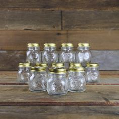 Quattro 5oz Home Canning Jars - Case of 12 - Canning Supplies