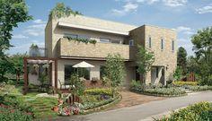 パルコン クレア | 外観デザイン | 戸建 | 地震に強い家 コンクリート住宅 パルコン | Palcon 大成建設ハウジング