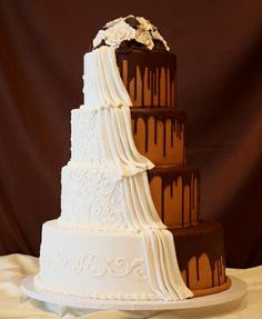 The perfect wedding cake! :)