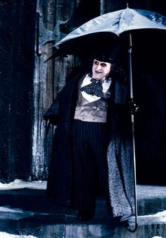 Danny DeVito as Penguin/Oswald Cobblepot, Batman Returns (1992)- I'm not pretty, so I can't be a Disney Princess OR witch; Maybe I'll just be the Penguin :(