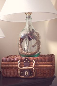 wine bottle lamp DIY | Diy Wine Bottle Lamp | craft ideas