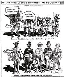 United States involvement in the Mexican Revolution - Wikipedia Political Satire, Political Cartoons, American Imperialism, Tea Party Patriots, The Spanish American War, Mexican Revolution, Westward Expansion, Babylon The Great, Le Far West