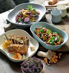 Kähler Mano Fad - Ovnfaste fade fra Kähler - Køb Mano Her - Luxoliving Fall Dinner, Plates And Bowls, Danish Design, Serving Dishes, Elegant, Home Kitchens, Mexican, Beef, Ethnic Recipes