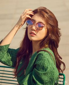 Suzy Shines in New CARIN Sunglasses Ads