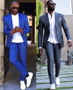 Check out Inherent Clothier shop for Premium Quality Suits! Business Casual Black Men, Business Casual Outfits, Men Casual, Trendy Mens Fashion, Mens Fashion Suits, Fashion Outfits, Fashionable Outfits, Mens Suits, Sneakers Fashion