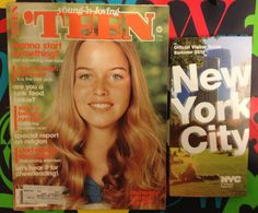 Teen magazine September 1976 Seventeen Model Young Miss   Ingenue W Co-Ed Ads