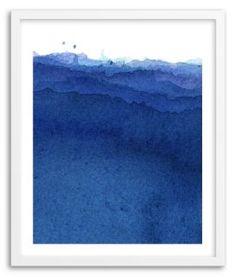 Kenji Hoshi, Blue Flow composition, content, palette