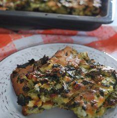 Μπατσαριά - The Cook in you Quiche, Pizza, Cooking Recipes, Breakfast, Food, Morning Coffee, Chef Recipes, Essen, Quiches