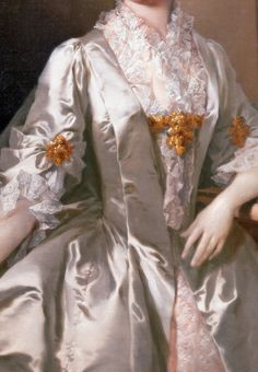 Portrait de Mme Wardle (Détail) Thomas Frye 1742