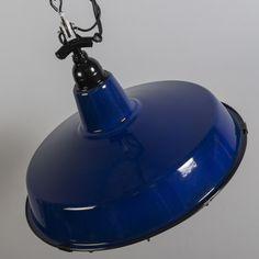 QAZQA - Hanglamp Loek donkerblauw - Hanglampen - Binnenverlichting - QAZQA.com