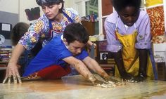 Using sensory stimuli – such as touch – can enhance students' learning experiences. Photograph: Alamy