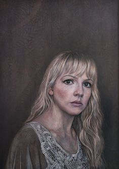 Self Portrait by Laura Quinn -  - submitted as entry for Sky Arts Portrait Artist of the Year 2014