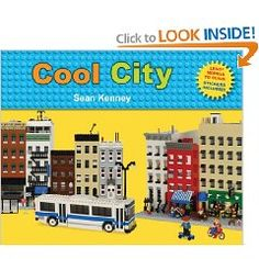 """Read """"Cool City Lego™ Models to Build - Stickers Included"""" by Sean Kenney available from Rakuten Kobo. Sean Kenney is back with original city creations of all sizes, colors, and features. Build a skyscraper, a brownstone, o. Chicago Architecture Foundation, Lego Books, Rome City, Book Reviews For Kids, City Model, B 13, Lego Models, Reading Levels, Lego Building"""