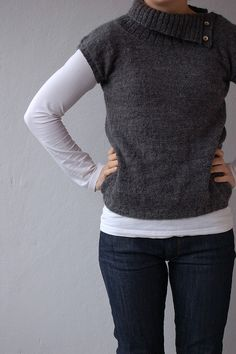 Ravelry: Plain and Simple Pullover pattern by Veera Välimäki