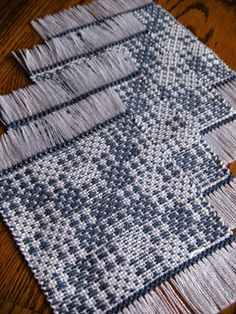 My weaving project for the week has been some handwoven beverage coasters. Some people call them mug rugs but I think these are far too...