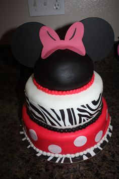 Minnie Mouse Party - Cake