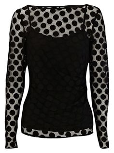My style: 1920s inspired - Coast Vanessa spot top #womensclothing