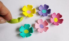 12 - 3d foam flowers ideal for foam crafts, fofuchas and more