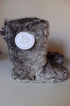 Pb Teen Pottery Barn Fur Ever Yours Furry Boots Slippers