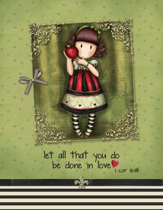 1 Cor Let all that you do be done in LOVE Bible Verses, 18th, Delicate, Graphic Design, Let It Be, Love, Amor, Scripture Verses, Bible Scripture Quotes