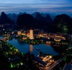 ...in a land far away. Guilin China