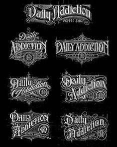 Best Ideas For Vintage Logo Tattoo Hand Lettering Tattoo Lettering Fonts, Types Of Lettering, Lettering Styles, Graffiti Lettering, Typography Letters, Lettering Design, Chicano Lettering, Vintage Logo Design, Vintage Fonts