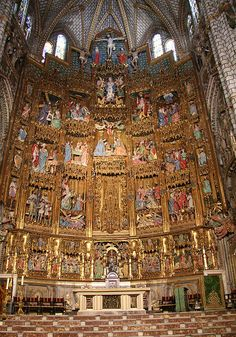 Spain Toledo Cathedral