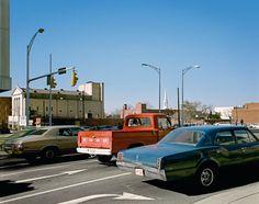 Stephen Shore - West Market Street and North Eugene Street, Greensboro, North Carolina, January 23, 1976