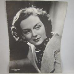 Rosalind Russell 1930s Movie Star Photo Screen Pictorial Page MGM B&W Vintage | eBay