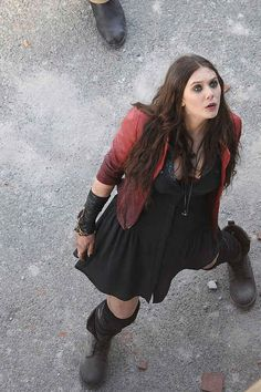 """Set Photos From """"Avengers: Age Of Ultron"""" Reveal Our First Look At Scarlet Witch And Quicksilver"""