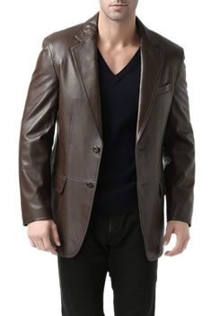 Mens Modern Suede Coat Synthetic Sheep Lamb Skin Blazer Jacket Jumper Top W012
