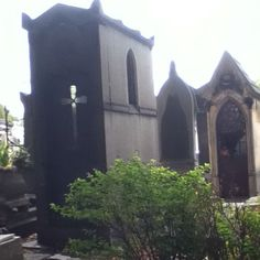 A graveyard in Paris.
