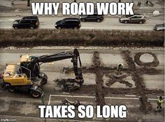 Why Road Work Takes So Long