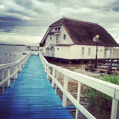 Haus im See, Neusiedlersee.