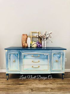 Blue and white furniture – sideboard. – The Salvage Yard Co. Blue and white furniture – sideboard. Blue and white furniture – sideboard. Furniture Diy, Furniture Restoration, Rustic Furniture, Painted Furniture, Furniture Decor, Vintage Painted Furniture, Shabby Chic Furniture, Sideboard Furniture, Vintage Furniture