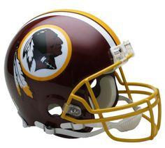 Washington Redskins Authentic NFL Full-Size Helmet
