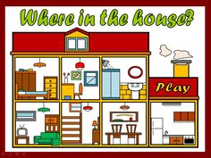 OLDIES BUT GOODIES (PACK 1) - PPT GAMES - PARTS OF THE HOUSE http://eslchallenge.weebly.com/