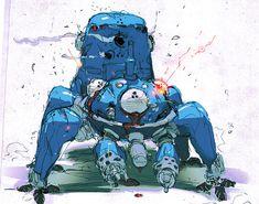 GITS Tachikoma - Mini-Tank AI