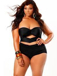 Sexy black swimsuit by Monif C!