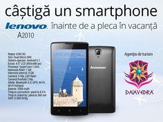 Concursuri Online: Castiga un telefon mobil Lenovo A2010