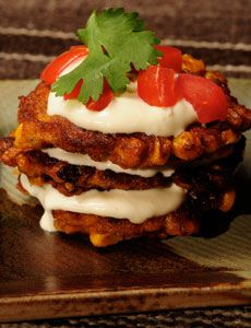 Sweet corn fritters -- can't wait to have some fresh corn now!