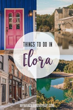 Enjoy small-town charm in Elora, Ontario – the ultimate list of things to do in Elora The ultimate list of things to do in Elora, Ontario, Canada. Visit Elora for its small town charm, natural beauty and one-of-a-kind shops and restaurants Cool Places To Visit, Places To Travel, Travel Destinations, Solo Travel, Travel Usa, Ottawa, Vancouver, Stuff To Do, Things To Do