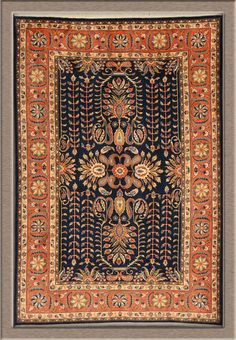 Sarouk 6'7 X 9'8 [22123] - $2,850.00 : Rug Firm, Handmade Persian Carpets And Oriental Rugs