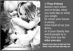 A true friend..