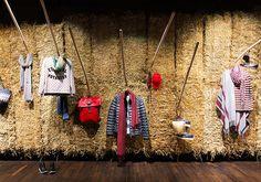 """LOEB AG, Bern, Switzerland, """"Why yes.... there is hay in my bra"""", pinned by Ton van der Veer"""